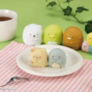 ついに「ねこ」と「とかげ」がキターー! 「すみっコぐらし」の和菓子、可愛すぎ。