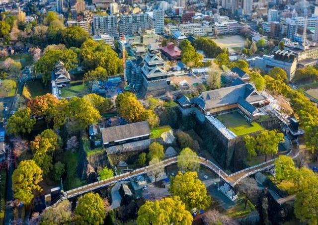400年超の歴史の中で出会える景色 熊本城の空中回廊を特別公開