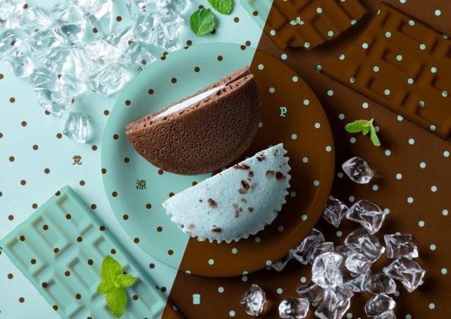 チョコミン党おなじみ。 パスコのチョコミント菓子パン、今年も登場してるよ~!