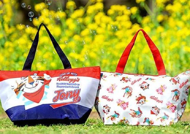 レジカゴサイズの保冷バッグが必ずもらえる! ケロッグ好きは要チェック。