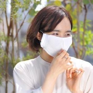 ムレ、息苦しさ、暑さを解消 靴下メーカーならではの「洗える冷感マスク」