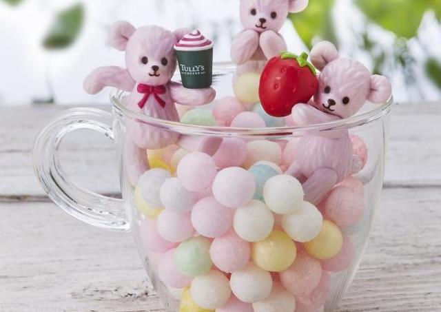 ピンクのクマちゃん可愛い。タリーズの「ふちベアフル」、どの子もお持ち帰りしたい!