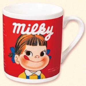 不二家行くしか。商品購入でレトロなペコちゃんのマグカップもらえるよ!