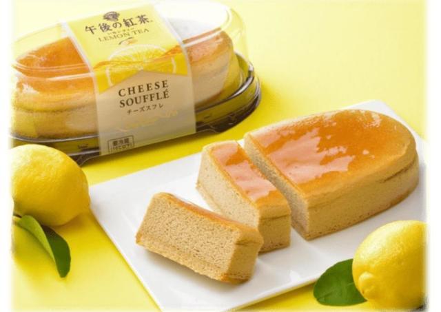 午後の紅茶とのコラボ再び! コージーコーナー限定「チーズスフレ」食べなきゃ。