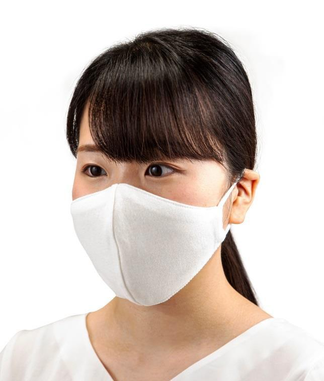 夏も快適な生地の「さらっと和紙マスク」  アートネイチャーがウィッグ技術を活かし製作