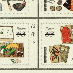 文具好きにツボる...レトロかわいい「日本橋切手」、粋な「仕掛け」付き。