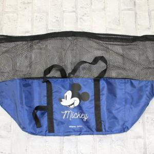 「可愛いし実用的」 レジカゴサイズのディズニーエコバッグ、ダイソーにあるよ!