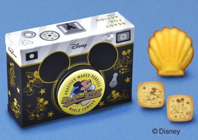 レトロで可愛い! 缶バッジ付きの「ディズニースイーツ」、コージーコーナーにあるよ。