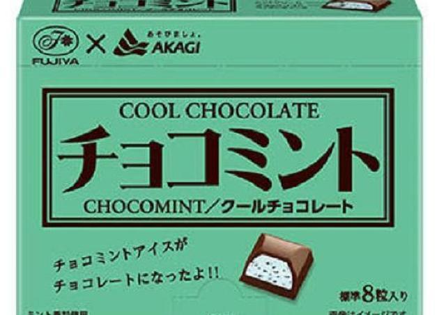 人気のチョコミントアイス...じゃない。「チョコミントチョコ」ってなんだ?