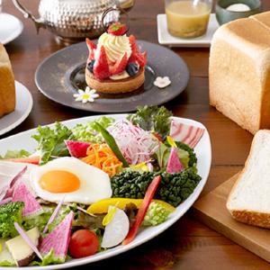 極上鎌倉生食パンを使用したブレッドメニュー