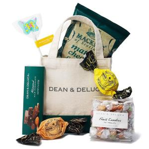 DEAN&DELUCAのトート付き「ハッピーバッグ」 クッキーやチョコもたっぷりだよ~。