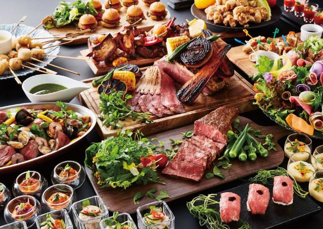 京都センチュリーホテルで肉料理食べ放題ビュッフェ
