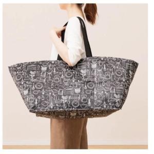 ニトリの90円から買える大きめ「マイバッグ」が便利! レジ袋有料化前にチェックして。