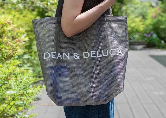オンラインでは早々に品切れ! DEAN&DELUCAの限定「メッシュトート」は即購入が吉