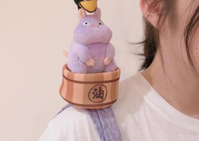 キツネリスや坊ねずみが肩にちょこん。 ジブリの「エコバッグ」可愛すぎ!