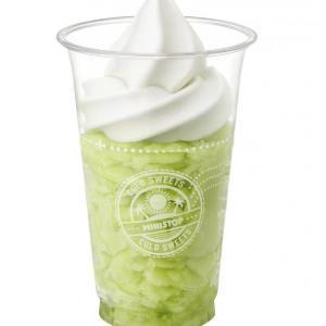 「めちゃくちゃ美味しい」 ミニストップ「ハロハロ果実氷」にメロンが初登場!