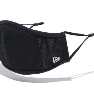 軽量で高い吸汗速乾性 ニューエラが繰り返し使える布マスク発売