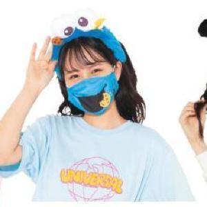 USJがエルモやスヌーピーになりきれる「マスク」発売! 売上の一部は社会貢献活動の推進へ