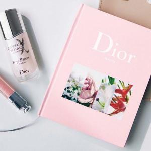 Diorのハードカバーノートが付録だって!? 高級感あってめっちゃかわいいよ~~~。