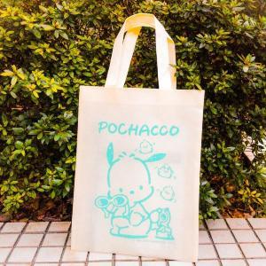 可愛すぎるポチャッコの不織布バッグが220円! ローソンで買えるよ~。