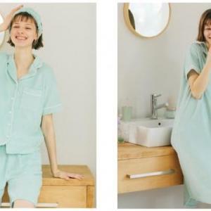 今度こそ手に入れたい。GU×SABONのミントパジャマ再販日決定したよ!