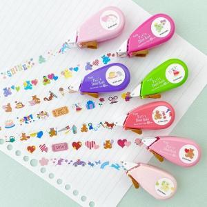 手帳やノートをキュートにデコれる「テープ」 PLAZAで先行発売されてるよ~