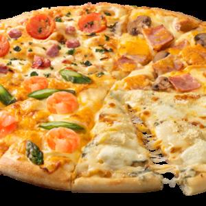 世界10種のプレミアムチーズが1枚で楽しめる 夢のピザ、自宅で食べよう!