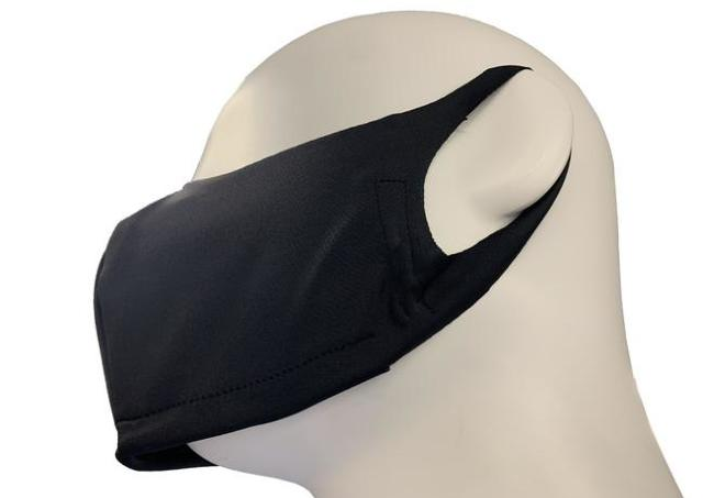 紳士服はるやま「下が開いてるマスク」発売 マスク内のムレを軽減。