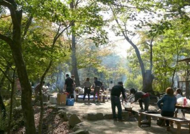 キャンプ場で秋の味覚「いも煮」を手ぶらで楽しもう