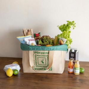 大容量で使いやすい! 早期完売の「紀ノ国屋」BIG保冷バッグ、再販されるよ~。