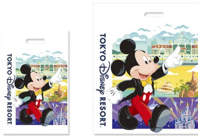東京ディズニーランド&シーも買い物袋「有料化」 一律20円に。