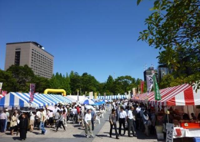 仙台と山形・村山地域の特産物を一堂に集めた産直市