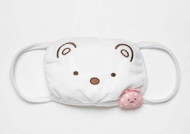 すみっコのマスクが可愛すぎる...! パッケージはマスクケースにもなるよ。