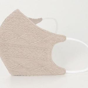ハニーズの「オールシーズン用マスク」に新柄! 秋にぴったりのケーブル柄、出るよ~。