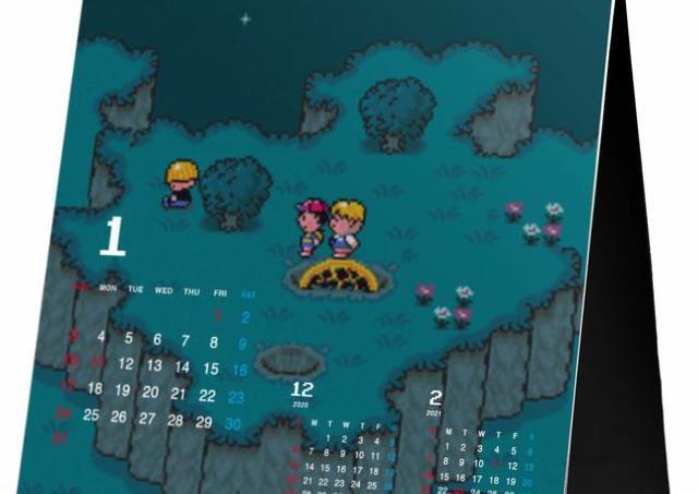ロフト売上1位カレンダーに「MOTHER」 便利&ゲームチックな遊び心が1年ギュッ。