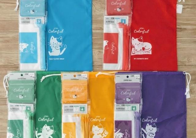 カラーとデザインが「嵐」っぽい! キャンドゥの推し色猫ちゃん、超かわいい~