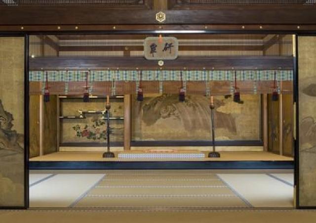 重要文化財を観賞。 皇室ゆかりの寺院「聖護院跡」特別公開