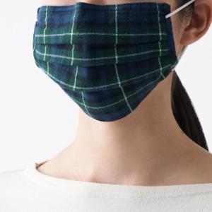 デザインもよき! 無印良品に残布を活かして作った「秋素材マスク」登場