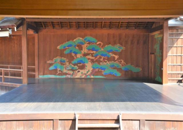 紅葉の後楽園で和の感動体験を。 岡山後楽園で狂言鑑賞会