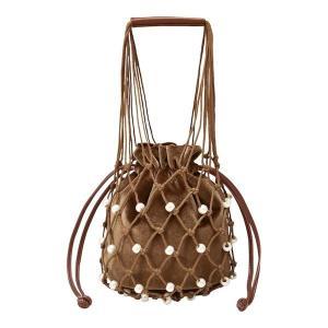 GUのバッグが990円に! パールとベロアの組み合わせがめちゃかわ。