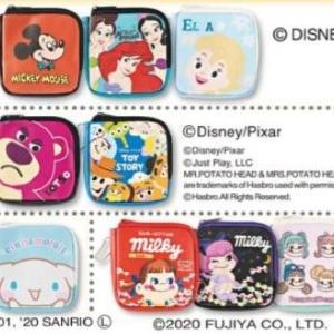 【しまむら】ディズニーのコインケースが300円! 可愛いキャラアイテムがまたまた登場。