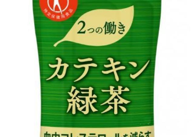 「濃い茶」の無料引換券付いてる! デイリーヤマザキで「カテキン緑茶」チェックして。