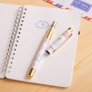 「付録とは思えない出来で感動」 リサ・ラーソンの万年筆が可愛い&使える。