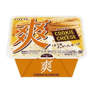 ロッテ「爽」に初のクッキー入り! 「クッキー&チーズ」期待しかない。
