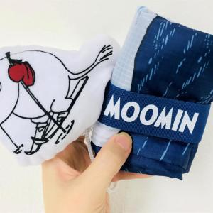 【付録】可愛いムーミンエコバッグが2つも!! 大きさ違うからめちゃくちゃ便利。