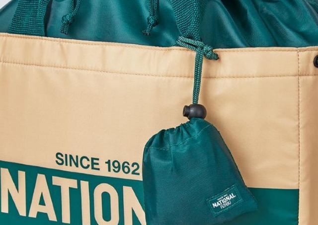 ナショナル麻布のエコバッグが本屋で手に入る!2サイズセットで大活躍間違いなし。