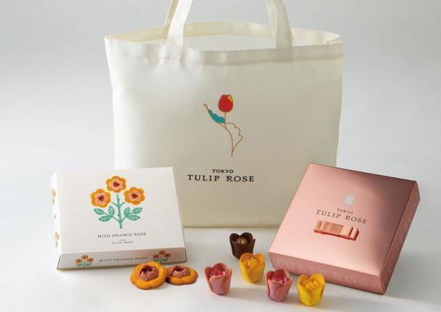花の形のスイーツ「TOKYOチューリップローズ」関西初の常設店