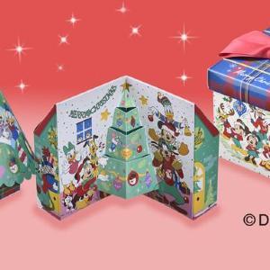 ディズニーデザインだ! コージーコーナーのXmas限定ギフトが可愛い。