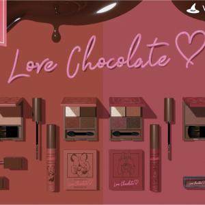 チョコレートなディズニーコスメ! おとな可愛さあって、捨て色なし。