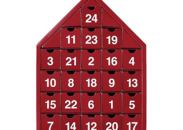 【無印良品】アドベントカレンダーは真っ赤なおうちが可愛い~!クリスマスまで毎日がワクワク。